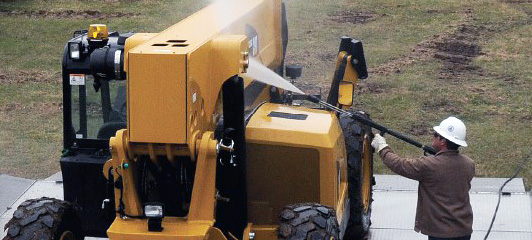 Heavy equipment power and pressure cleaning services in Temple TX